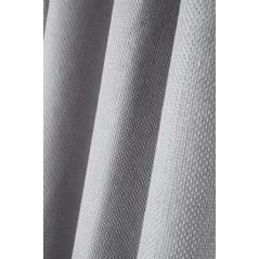 Draperie moderna confectionata cu inele Arsene gri deschis
