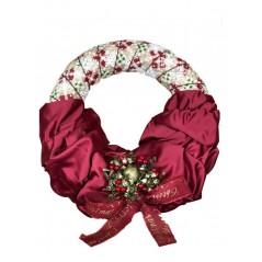 Coronita de Craciun handmade unicat Karo Festive Joy 4