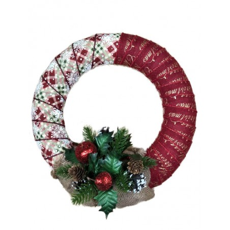 Coronita de Craciun handmade unicat Karo Festive Joy 5