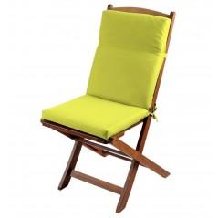 Perna pentru scaun cu spatar Sunny galben verzui