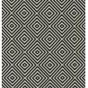 Metraj draperie tapiterie geometric BW Norfolk alb cu negru