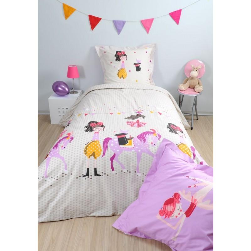 Lenjerie de pat bumbac pentru copii Dressy