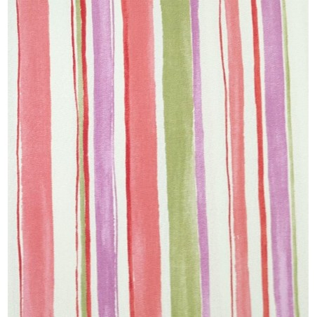 Metraj draperie bumbac Zurbalan cu dungi colorate