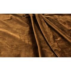 Metraj draperie si tapiterie catifea Italian Velvet aramiu