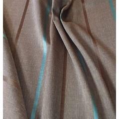 Metraj draperie cu dungi subtiri Yenka gri