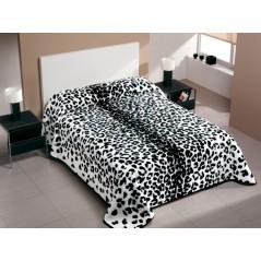 Patura cuvertura de pat dublu leopard