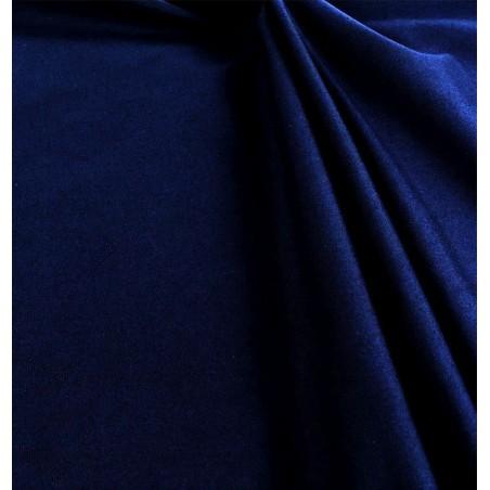 Metraj draperie simpla bumbac Carol bleumarin