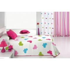 Cuvertura de pat fete cu fluturi
