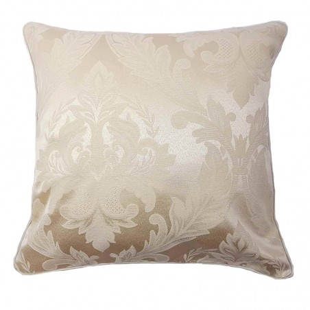 Perna decorativa eleganta crem ivory