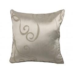 Perna decorativa eleganta Karo auriu cu bej
