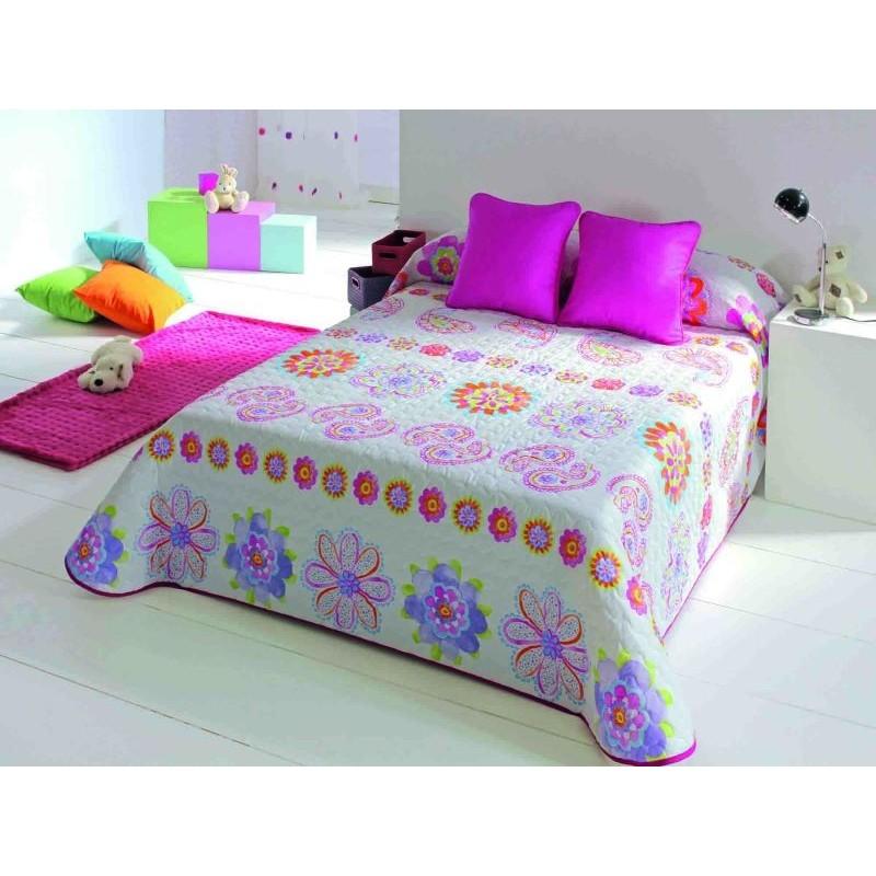 Cuvertura de pat fete cu imprimeu floral