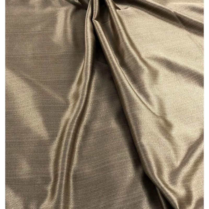 Metraj draperie simpla Karo grej sidefat