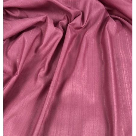 Metraj draperie eleganta Karo roz inchis