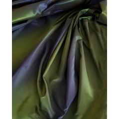 Metraj draperie tafta in degrade verde cu albastru