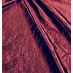Metraj draperie tafta creponata bordo Zafiro