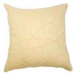 Perna decorativa eleganta galben pai