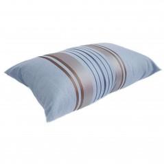 Perna decorativa dreptunghiulara Yuke bleu