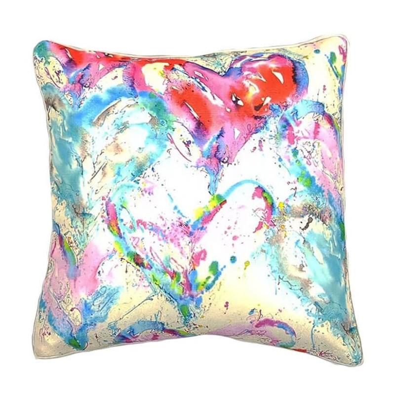 Perna decorativa model abstract colorat