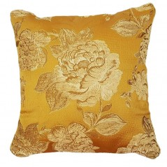 Perna decorativa cu motive florale aurii