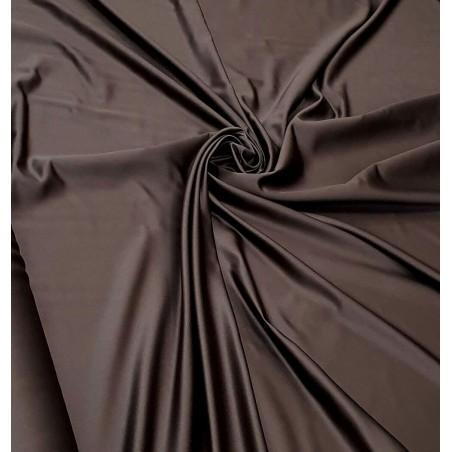 Metraj draperie saten elegant Arcadia maro wenge