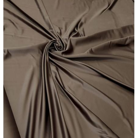 Metraj draperie saten elegant Arcadia maro kaki
