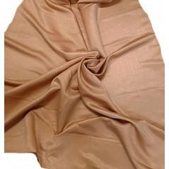 Metraj draperie moderna Soft caramiziu