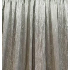 Metraj draperie elegant grej cu argintiu