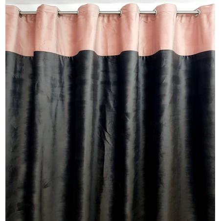 draperie-catifea-roz-prafuit-gri-antracid