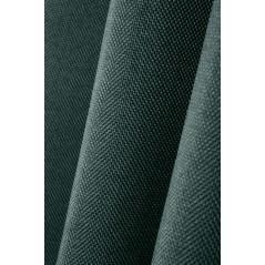 Draperie blackout verde inchis confectionata cu inele Copenhague 140x260 cm