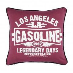 Perna decorativa vintage Los Angeles visiniu