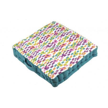 Perna podea retro bumbac Jacara multicolor