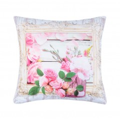 Perna decorativa florala Capeline rose cu trandafiri