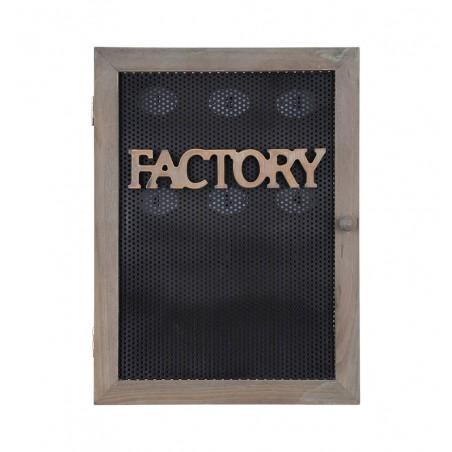 Cutie moderna pentru chei Handcraft negru 30x22 cm