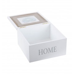 Cutie bijuterii Home Charline alba 15x15x8 cm
