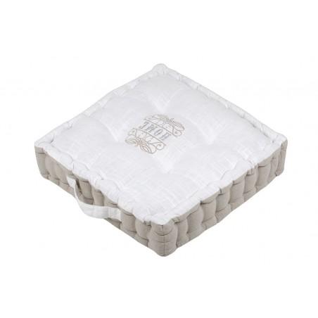 Perna podea cu model elegant bumbac Charline natural