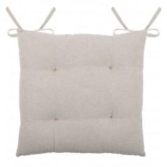 Perna scaun eleganta bumbac Charline ecru 40x40 cm