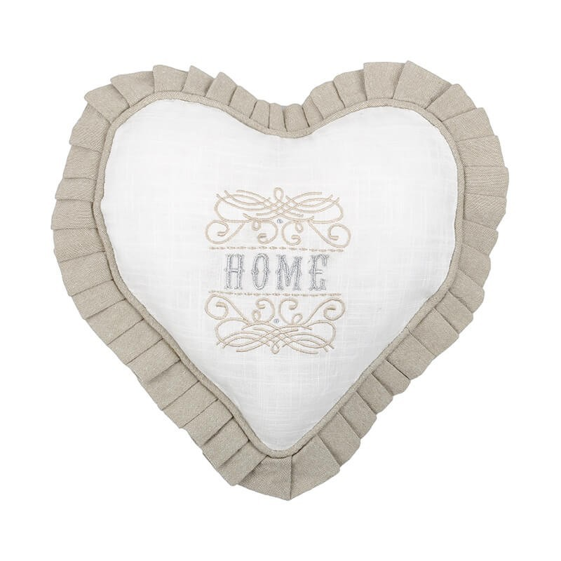 Perna decorativa eleganta inima Charline natural