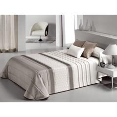 Cuvertura de pat cu model elegant Bis bej cu crem