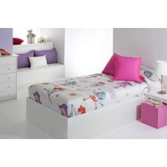 Cuvertura de pat pentru fete cu gimnastica ritmica Sugar AG multicolor