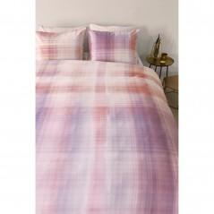 Set lenjerie de pat cu 2 fete de perna bumbac Curacao Corai in degrade