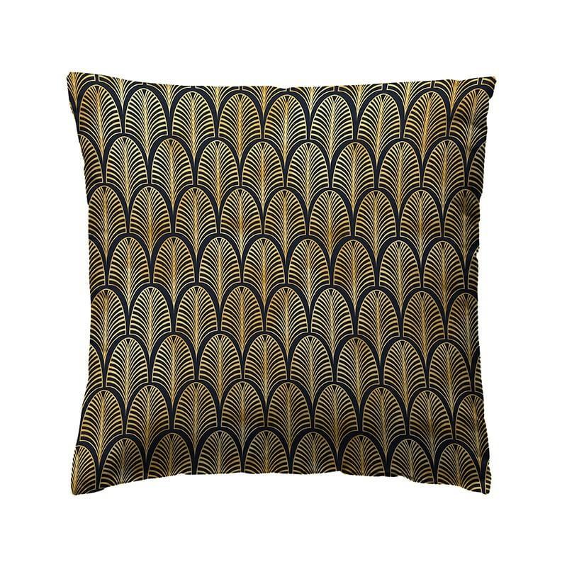 Perna decorativa eleganta Loneta Santi Gold cu design auriu