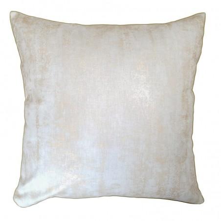 Perna decorativa cu model abstract aramiu cu alb