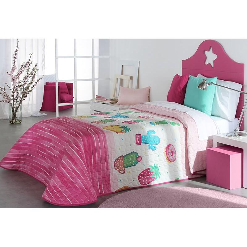 Cuvertura de pat pentru fete cu desene vesele Pineapple