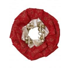 Coronita de Craciun handmade unicat Karo Festive Joy 7