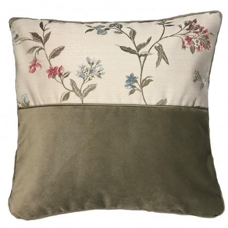 Perna decorativa cu flori Asia olive
