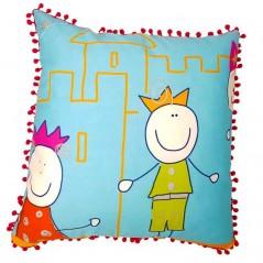 Perna decorativa cu doua fete pentru copii