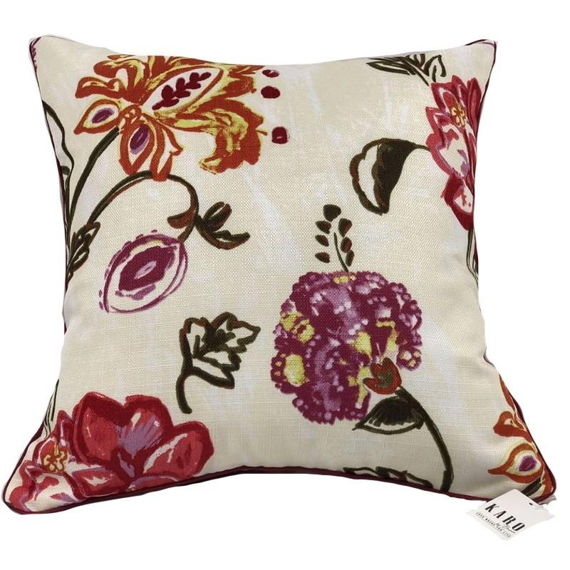 Perna decorativa eleganta cu flori mari
