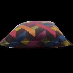 Perna decorativa cu forme geometrice colorate
