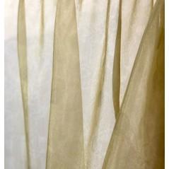 Metraj perdea eleganta organza dubla Karo olive