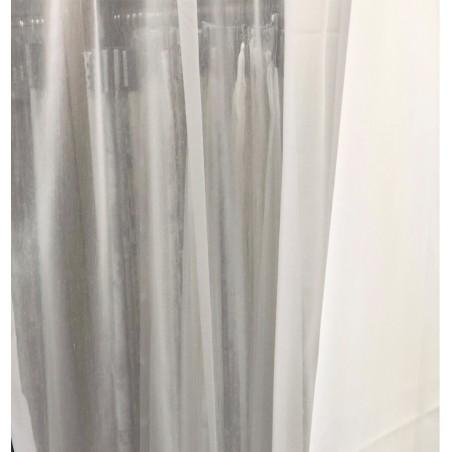 Metraj perdea moderna texturata Karo ivoire